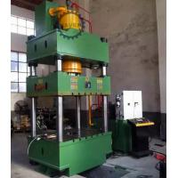 Quality Four columns hydraulic pressing machine and forming machine drawing for long work piece for sale