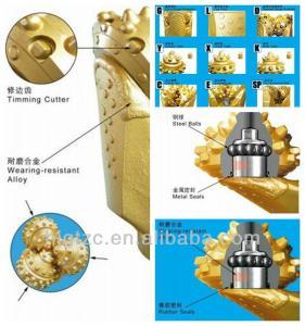 """Quality 6 1/2"""" oil drill bits IADC 517 mining drilling bit for sale"""