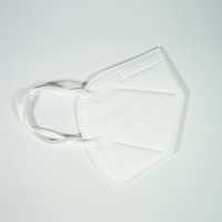 Quality White High BFE KN95 Respiration Mask for sale