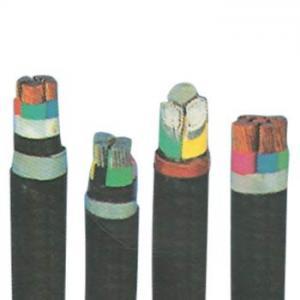 Quality YJV/11kv Cu conductor xlpe power black PVC sheath cables for sale