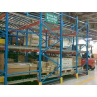 China Pallet Flow Racking For Metal Racks on sale