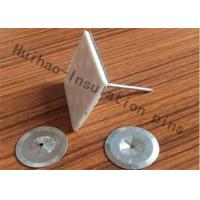 China Double Face Tape Self Adhesive Insulation Pins 12Ga Dia With Clip Fix Glass Wool on sale