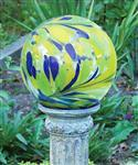 China Metal  Blossom Swirl Glass Globe Gazing Ball Stands for Garden decoration    on sale