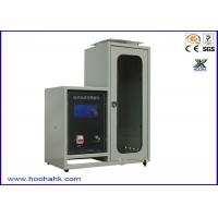 Quality JIS-1091 Flammability Test Apparatus Textile Vertical 220V 50HZ 40mm Flame Height for sale