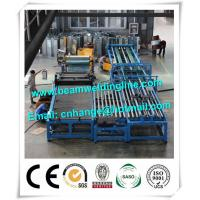 Quality Automatic HVAC Duct Manufacturing Line , Wind Tower Production Line Make Heating Duct for sale