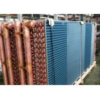 Quality Compact Fin Type Heat Exchanger For Commercial / Industrial Refrigeration Equipment for sale