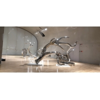 Quality Exhibition mirror polish stainless steel sculptures ,metal art steel statue,Stainless steel sculpture supplier for sale