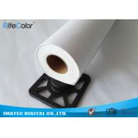 Best 360gsm Eco Solvent Glossy Digital Printing Inkjet Cotton Canvas Roll Inkjet wholesale