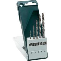 Quality HSS Titanium Coated Drill Bits Plastic Case For Metal With Bright Finished for sale