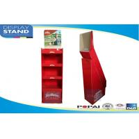 Best Red Free Standing Pop Display Stands For Instant Noodles POP / POS Display Rack wholesale