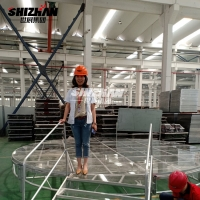 Quality Outdoor Event Glass Floor Portable Dance Stage TUV Certified 800kgs/Sqm for sale