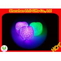 China HOT!!! pvc body led heart gift best valentines day gifts 6*7*4.5cm on sale