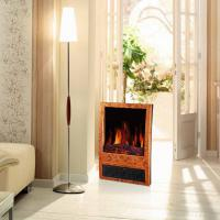 China log burning LED flame effect electric fireplace heater stoves NDY-20D portable wooden finish climat room/indoor heater on sale