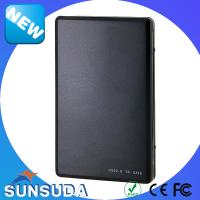 Quality Portable 2.5 Inch HDD case USB3.0 to SATA Aluminium and Plastic Hard drive enclosure tool free for sale