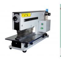 China Guillotine type Aluminum Pre - scored  pcb depanelizer , Depanelization Of PCB on sale