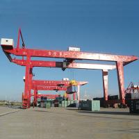 Buy Portable Mobile Container Gantry Crane / 30.5T 60T Cargo Container Crane at wholesale prices
