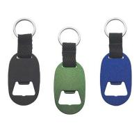 Quality Custom Metal Keychain Beer Bottle Opener With Engraved Or Epoxy Logo for sale