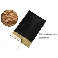 Quality Honeycomb Paper Padded Mailers Black Self Seal Padded Mailing Envelopes for sale