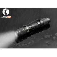 Mini Everyday Carry Flashlight With Magnetic Tail AAA Battery Powered