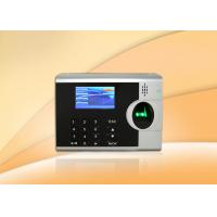 Quality Employee Fingerprint Time Clocks For Small Business , 3 Inch TFT Color Screen for sale