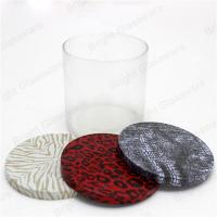 China Customized Fashion Candle Jar Flat lid for Christmas Occassion on sale