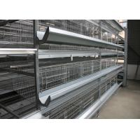 Quality High Strength Chick Rearing Cage H Type Layer Cage  For Poultry Farm for sale