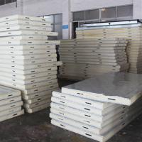 China HeCheng Insulation Sandwich PU Foam Wall Panel for Sale on sale