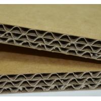 Quality High Performance Thick E Flute Corrugated Cardboard Sheet Smooth Surface for sale