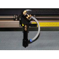 China Small wood laser cutting machine with linear guide rail , wood laser engraver on sale