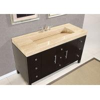 Quality Eased Edges Natural Marble SBath Vanity Tops With Cut Out Polished for sale