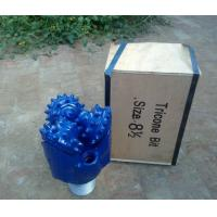 Quality Tricone drill bits with API certification for water well drilling for sale