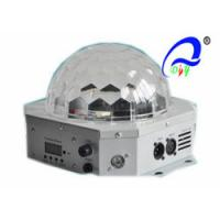 China 3pcs 5W RGB LED Magic Ball Light With Strobe Crystal LED Disco Stage Effects on sale