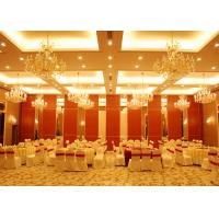 Quality Conference Room Folding Partition Walls Customers Own Material Finish for sale