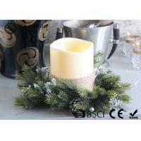 Advent Wreath Led Candles , Battery Operated Advent Candles D15X20CM