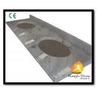Quality Xiamen Kungfu Stone Ltd supply Carrara Marble Hotel Countertops In High quality for sale