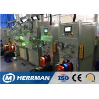 Quality Horizontal Type Fiber Optic Cable Production Line For Coloring And Rewinding for sale