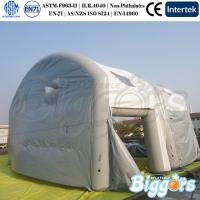 Quality Unique Design Clear Inflatable Army Tent Outdoor Camping House with Clear PVC for sale