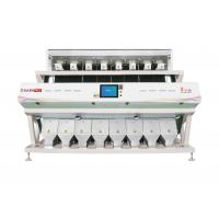 High Capacity CCD Color Sorter Multipurpose Vegetable Color Sorter White Color for sale