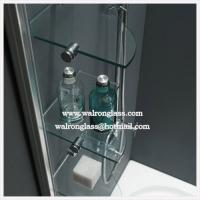 Best Bathroom Glass Shelf Tempered Toughened Glass wholesale
