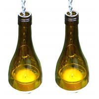 China Bottle Hanging Votive Candle Holders on sale