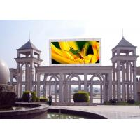 Quality High  Frequency RGB P16 Outdoor Full Color electronic led display boards MBI5020 for sale