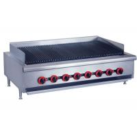 Quality Counter Top Gas Char Broiler Durable Barbeque Gas Griller With Oil Collector for sale