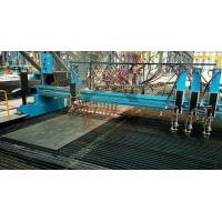 Buy CNC Oxygen Cutting Machine Double Side Panasonic Driver 100m Thickness at wholesale prices