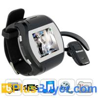 "China Grande Porto - 1.5"" Touchscreen Cell Phone Watch (850mAh, Quad Band) on sale"