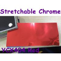 Quality Stretchable Chrome Mirror Car Wrapping Vinyl Film - Chrome Red for sale