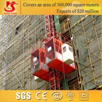 Quality Construction Lifting Equipment, Building construction Material Hoist/lifter for sale