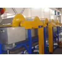 China PVC plastic bottle recycle machine / PET recycling machine high speed on sale