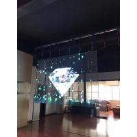 Quality P3.91mm Full Color Transparent Led Display Screen 6000 Brightness For Shop Window for sale