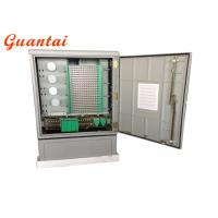 Quality Outdoor Ground Mounted Fiber Optic Distribution Cabinet IP65 Protection Grade for sale