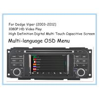 Quality Stereo Viper Dodge DVD Player Car DVD GPS Navigation 2003 - 2012 CT1D-D8836C for sale